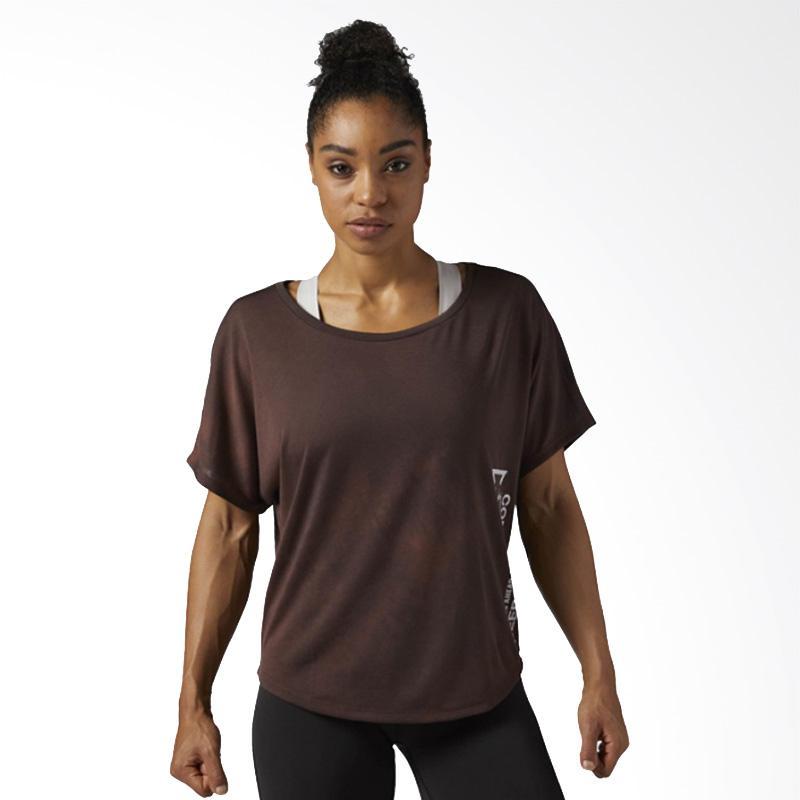 Reebok Combat Spraydye Tee Brinside Baju Olahraga Wanita [BR0334]