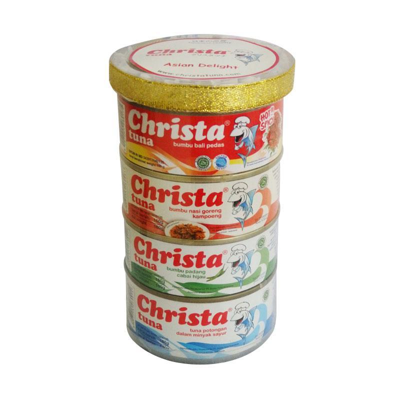 Christa Tuna Paket Asian Delight Makanan kaleng