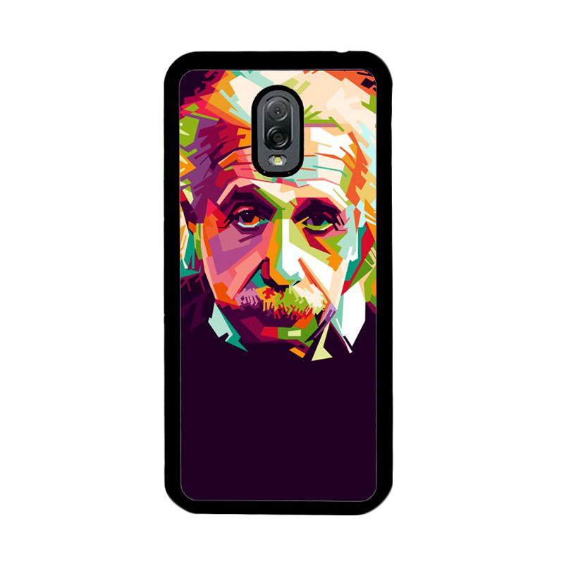 Flazzstore Albert Einstein In Wpap Art Z0318 Custom Casing for Samsung Galaxy J7 Plus