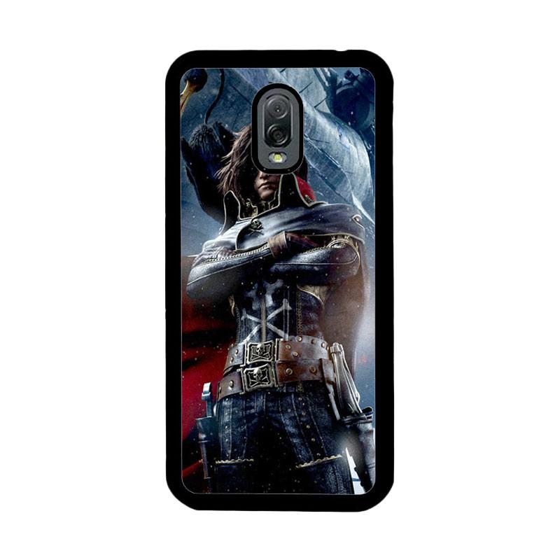Flazzstore Albator Captain Harlock Z0401 Custom Casing for Samsung Galaxy J7 Plus