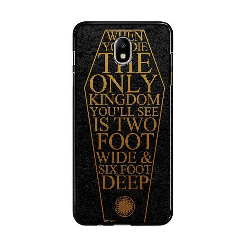 Flazzstore Bring Me The Horizon Coffin The House Of Wolves Quote F0353 Custom Casing for Samsung Galaxy J7 Pro 2017