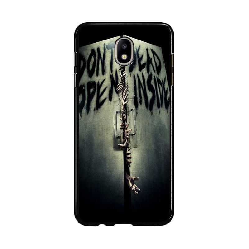 Flazzstore Open Dead Inside Zombie Z0146 Custom Casing for Samsung Galaxy J7 Pro 2017