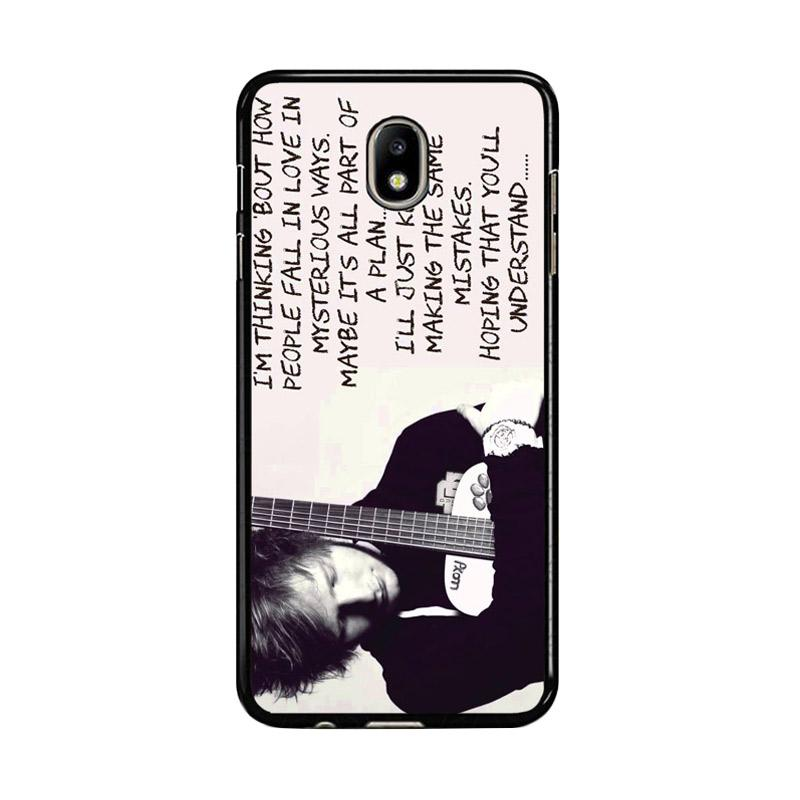 Flazzstore Thinking Out Loud-Ed Sheeran Lyric F0702 Custom Casing for Samsung Galaxy J5 Pro 2017