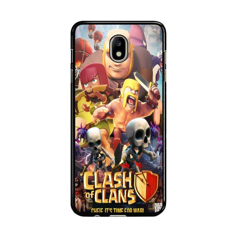 Flazzstore Clash Of Clans Movie Z0154 Custom Casing for Samsung Galaxy J5 Pro 2017