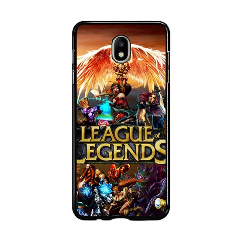 Flazzstore League Of Legends Cover Z0281 Custom Casing for Samsung Galaxy J7 Pro 2017