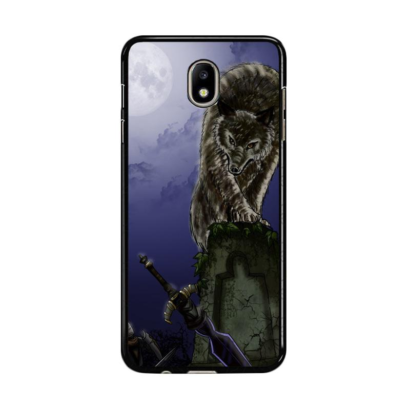 Flazzstore Great Grey Wolf Sif Puppy Z0311 Custom Casing for Samsung Galaxy J7 Pro 2017