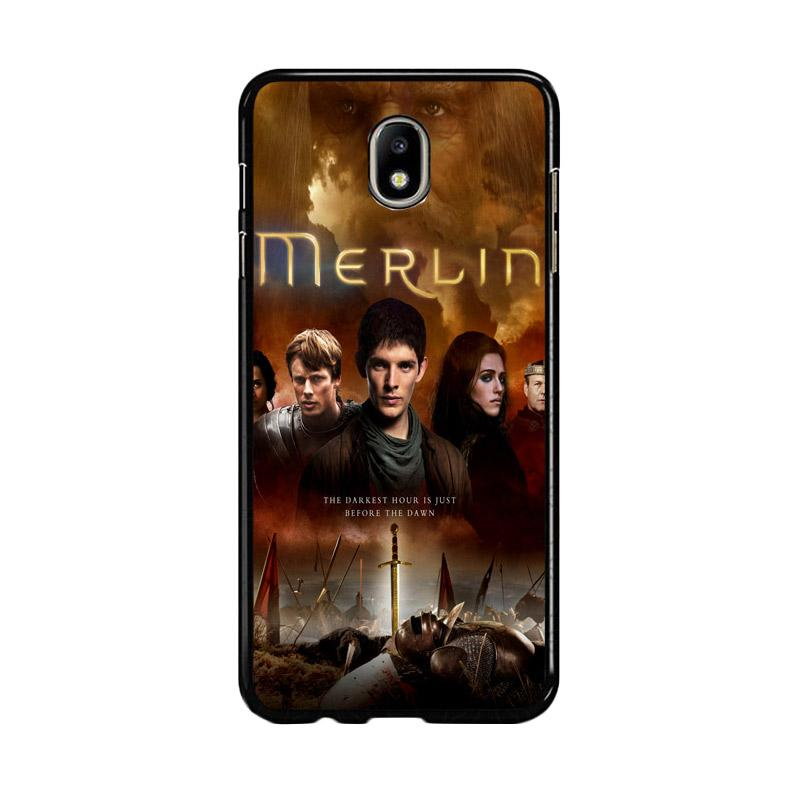 Flazzstore Merlin Fantasy Adventure Television Z0556 Custom Casing for Samsung Galaxy J5 Pro 2017