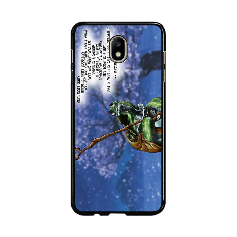Flazzstore Kung Fu Panda Turtle Quote Z0967 Custom Casing for Samsung Galaxy J7 Pro 2017