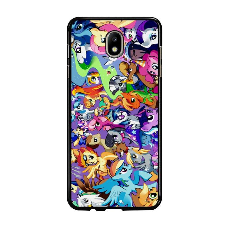Flazzstore My Little Pony Collage Z1359 Custom Casing for Samsung Galaxy J7 Pro 2017