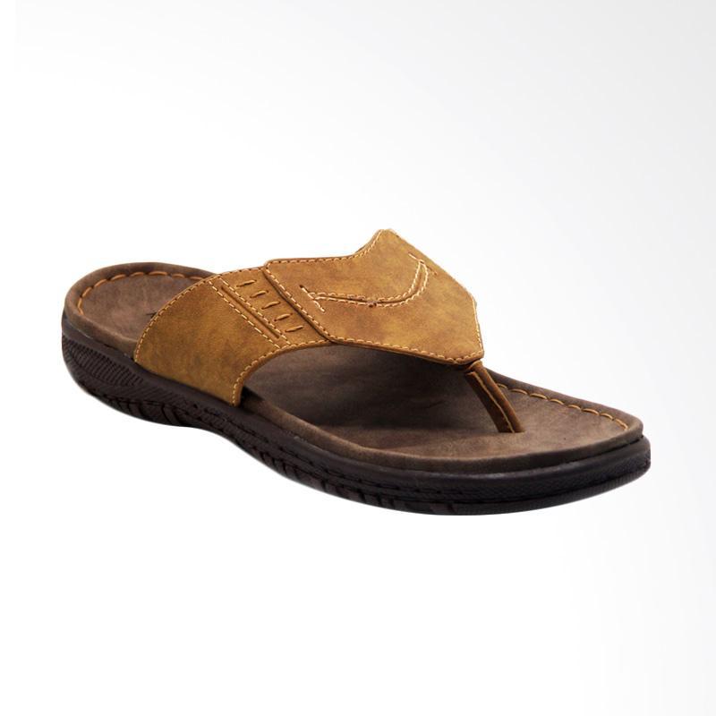 harga Rockvalley Sandal Pria - Camel [B25 131] Blibli.com