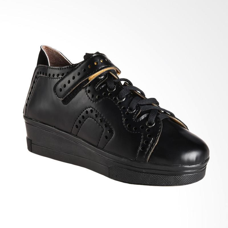 A.C.C.E.P.T Pixel Sneaker Sepatu Wanita - Black