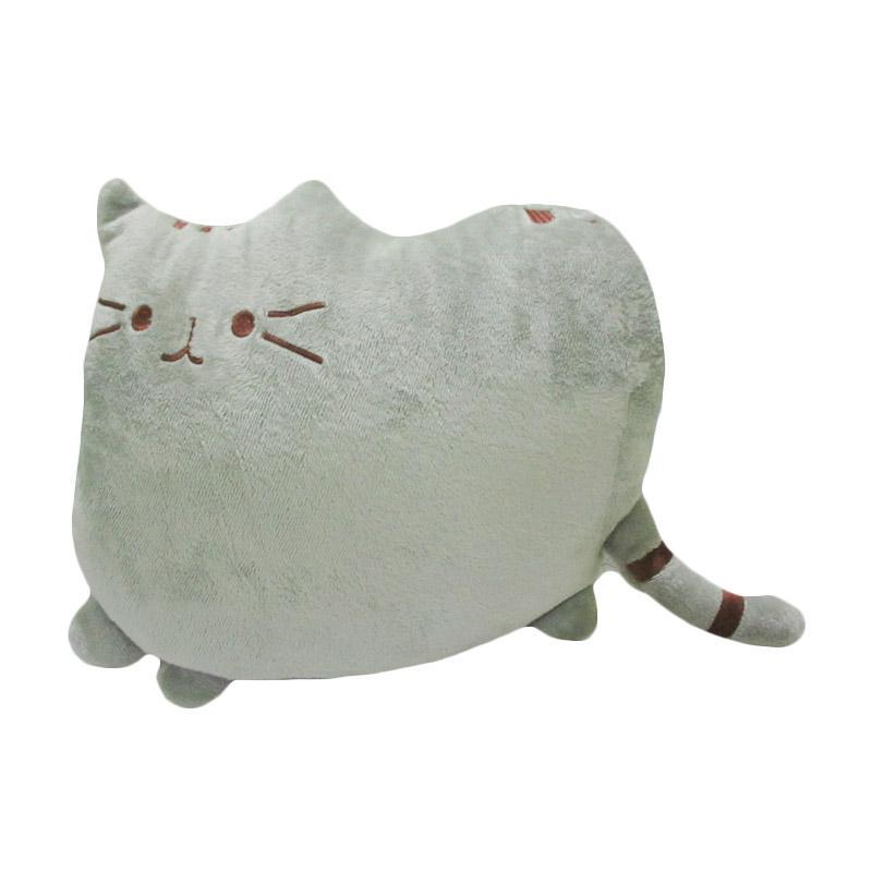 harga Spicegift  Kucing Local Quality Bantal Boneka - Abu-Abu Blibli.com