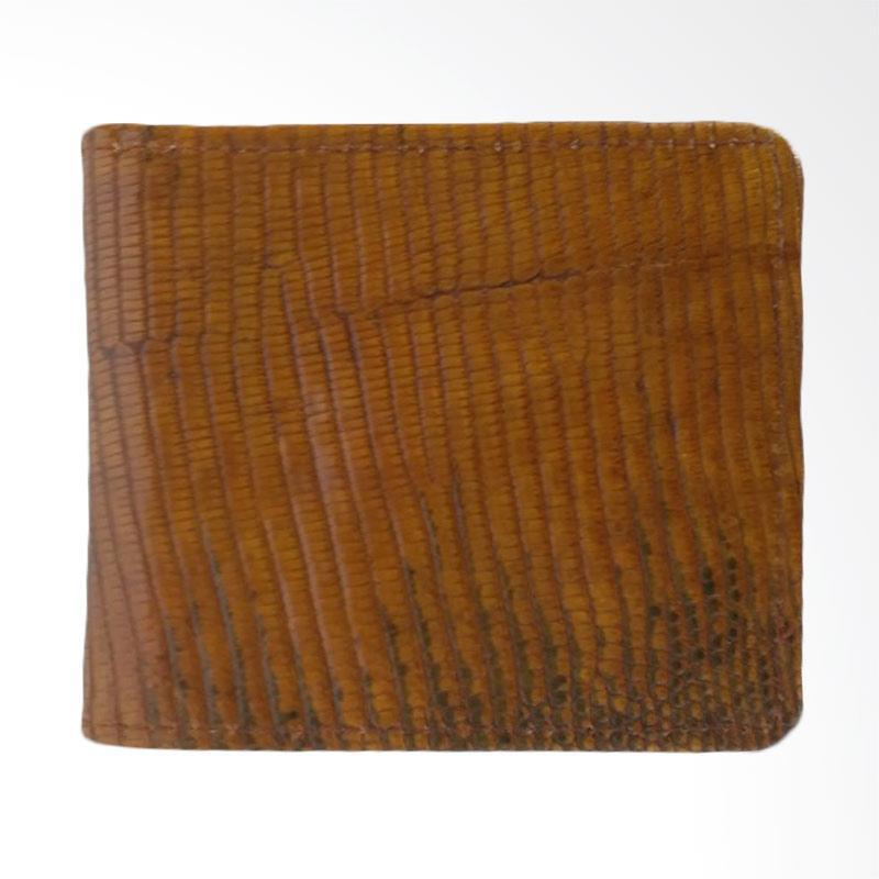 Zamrud Model Lipat Lidah Kulit Biawak Dompet