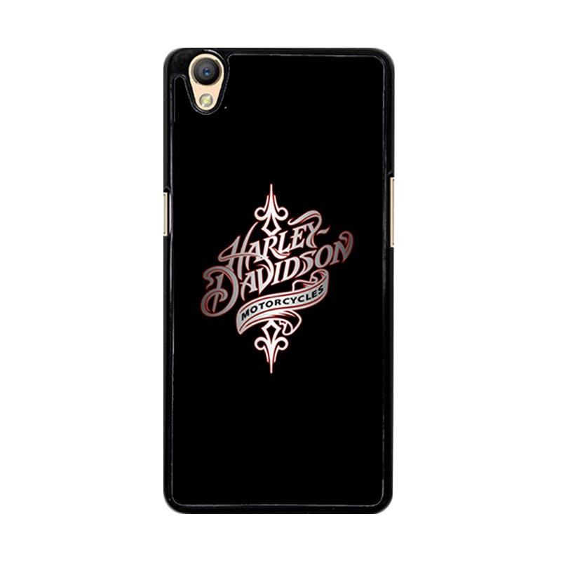 Flazzstore Harley Davidson Motorcycles O0738 Custom Casing for Oppo Neo 9 A37