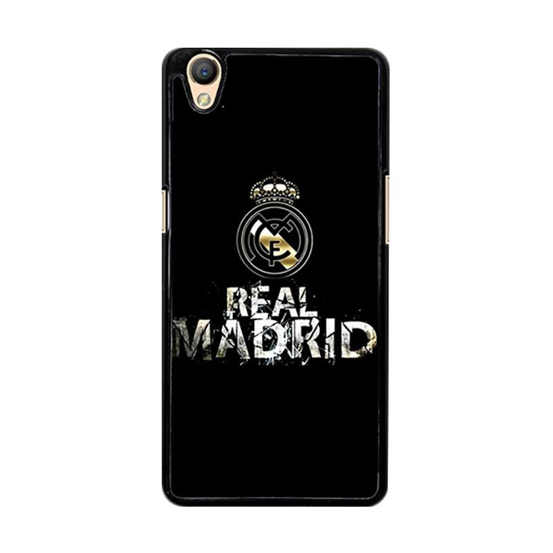 Flazzstore Real Madrid Logo O1047 Custom Casing for Oppo Neo 9 A37