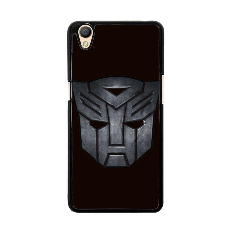 Flazzstore Transformers Autobots Icon Black F0242 Custom Casing for Oppo Neo 9 A37