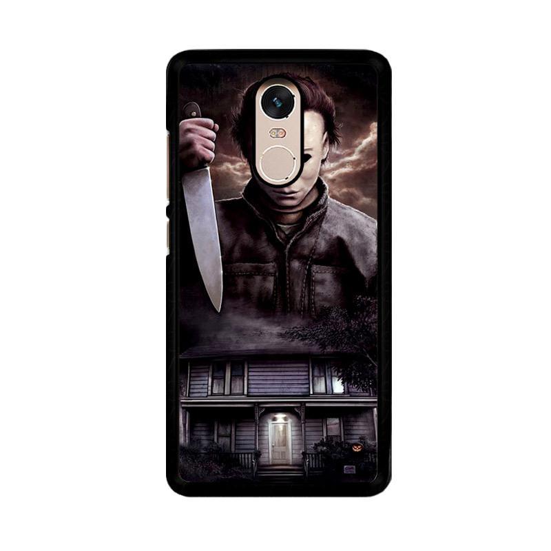 FlazzstoreMichael Myers Halloween Z1319 Custom Casing for Xiaomi Redmi Note 4 or Note 4X Snapdragon Mediatek