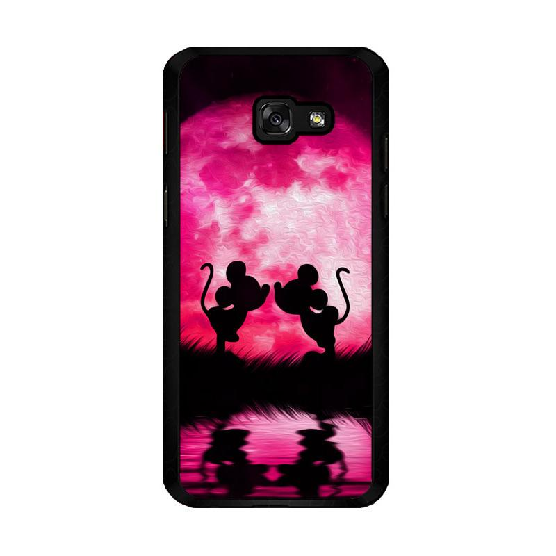 Flazzstore Romance Mickey And Mini Mouse O0660 Custom Casing for Samsung Galaxy A5 2017