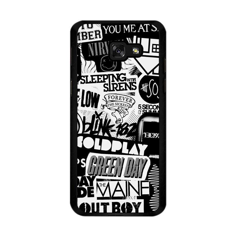 Flazzstore The Xx Coldplay Arctic Monkeys The Neighbourhood Sleeping With Sirens The 1975 Band Z0252 Custom Casing for Samsung Galaxy A5 2017
