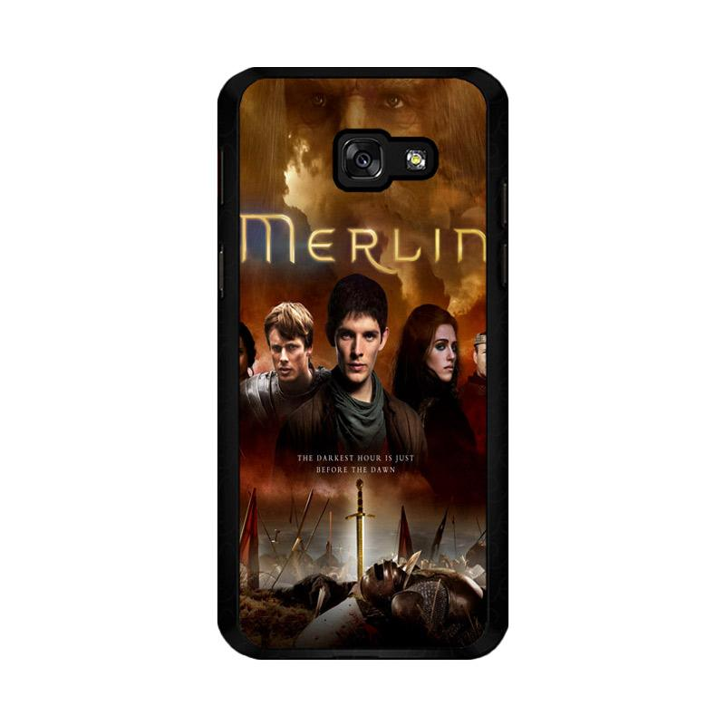 Flazzstore Merlin Fantasy Adventure Television Z0556 Custom Casing for Samsung Galaxy A5 2017
