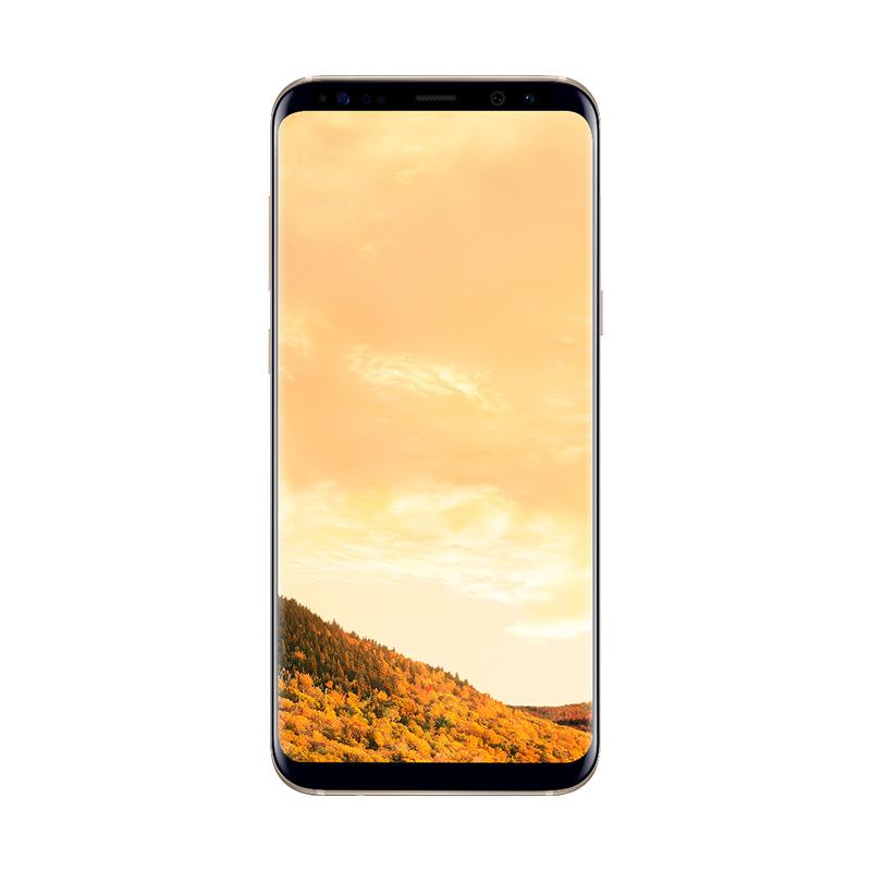 Samsung Galaxy S8 Smartphone - Maple Gold [64GB/ 4GB] + Free Tumi Casing for Samsung Galaxy S8