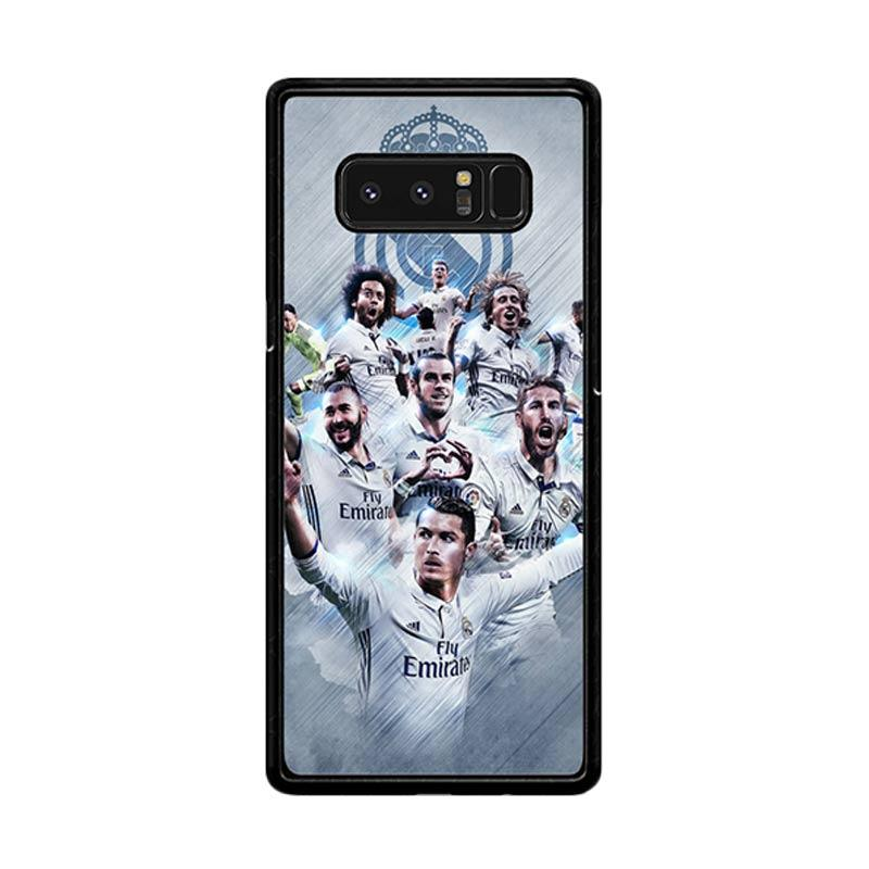 Flazzstore Real Madrid Team O1019 Custom Casing for Samsung Galaxy Note 8