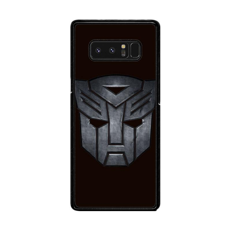 Flazzstore Transformers Autobots Icon Black F0242 Custom Casing for Samsung Galaxy Note8