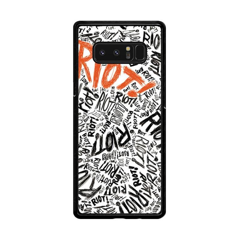 Flazzstore Paramore Riot Quote Art F0587 Custom Casing for Samsung Galaxy Note8
