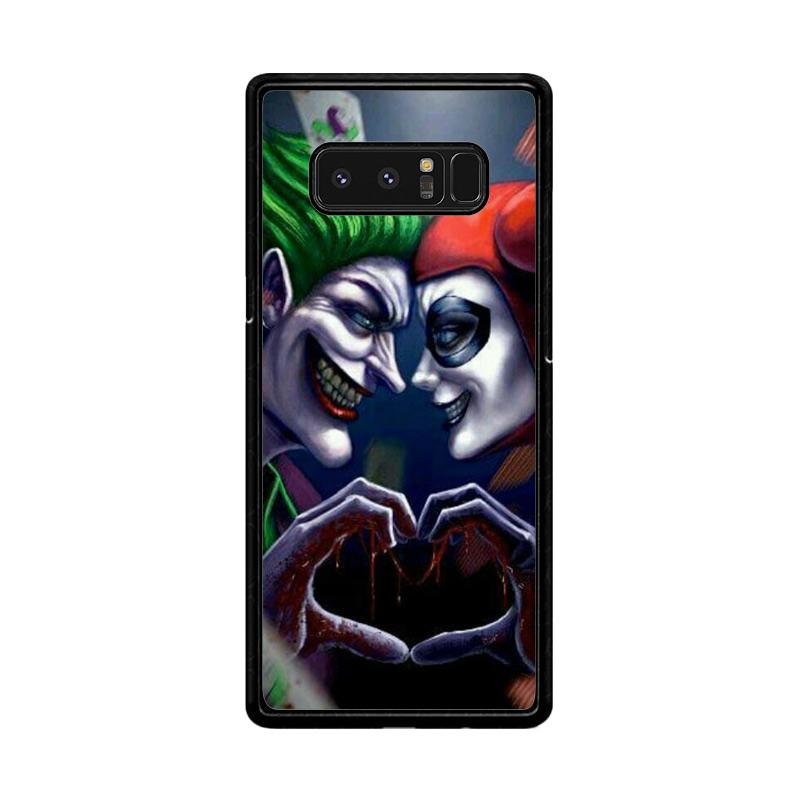 Flazzstore Harley Quinn And Joker Love F0447 Custom Casing for Samsung Galaxy Note8