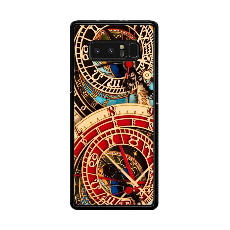Flazzstore Astronomical Clock Vintage Classic F0332 Custom Casing for Samsung Galaxy Note8