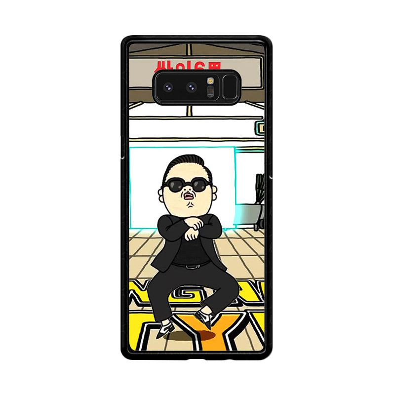 Flazzstore Gangnam Style Psy Dancing Z0185 Custom Casing for Samsung Galaxy Note8