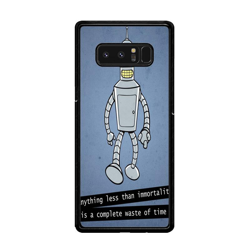 Flazzstore New Rare Futurama Bender Z0942 Custom Casing for Samsung Galaxy Note8