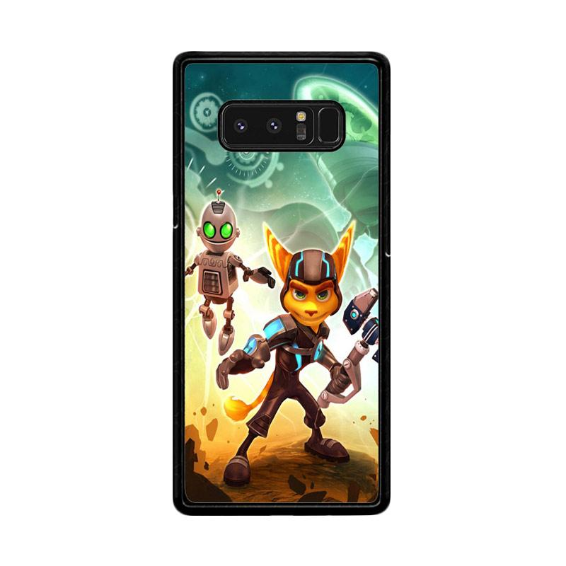 Flazzstore Ratchet And Clank Z1150 Custom Casing for Samsung Galaxy Note 8