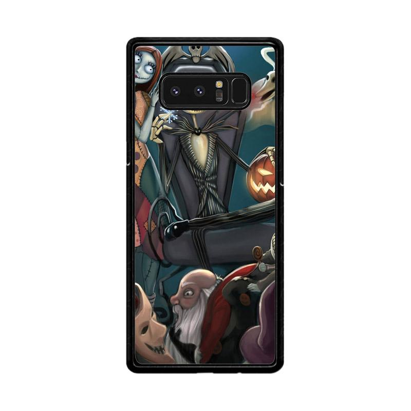 Flazzstore Nightmare Before Christmas Z1482 Custom Casing for Samsung Galaxy Note8