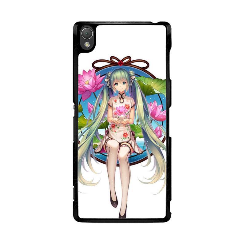 Flazzstore Hatsune Miku Anime O0680 Custom Casing for Sony Xperia Z3