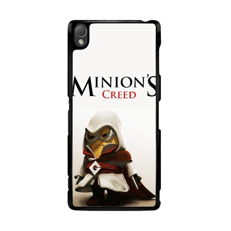 Flazzstore Assasin Creed Minion Despicable Me F0150 Custom Casing for Sony Xperia Z3