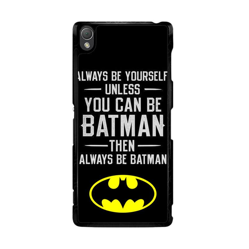 Flazzstore Batman Quote F0320 Custom Casing for Sony Xperia Z3