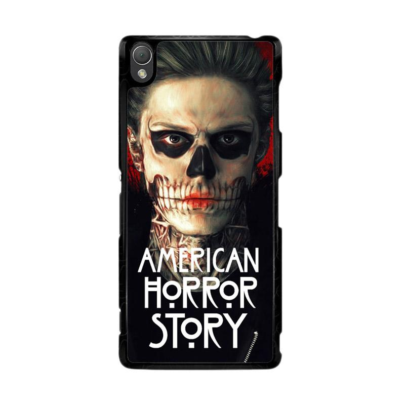Flazzstore American Horror Story Face F0864 Custom Casing for SONY Xperia Z3