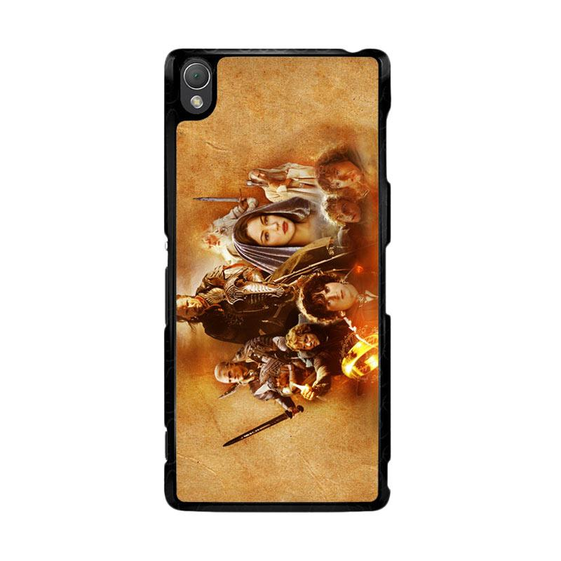 Flazzstore Hobbit Lord Of The Ring Lotr Art Z0105 Custom Casing for Sony Xperia Z3