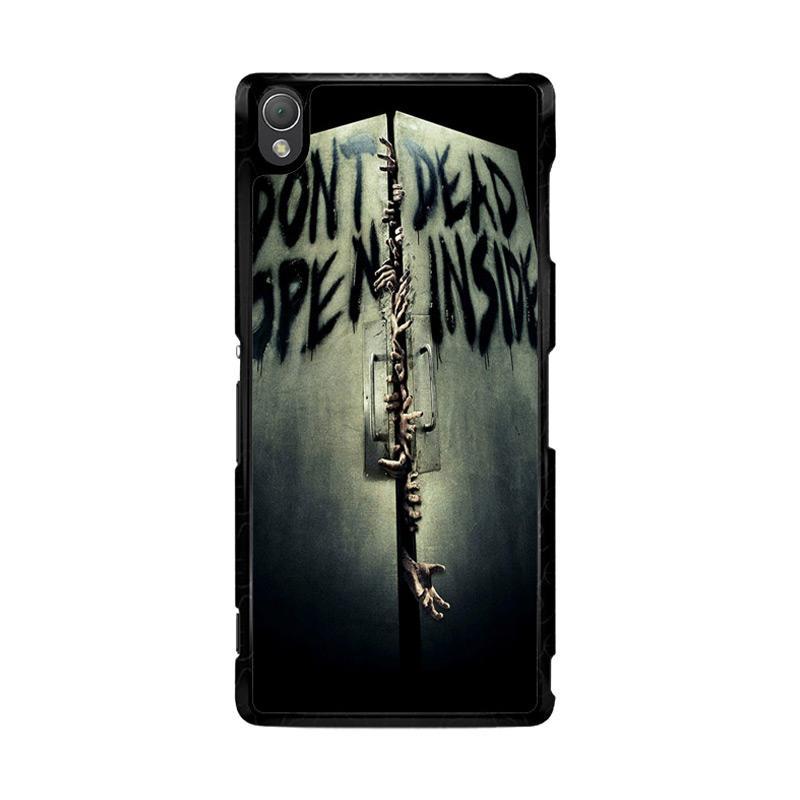 Flazzstore Open Dead Inside Zombie Z0146 Custom Casing for SONY Xperia Z3