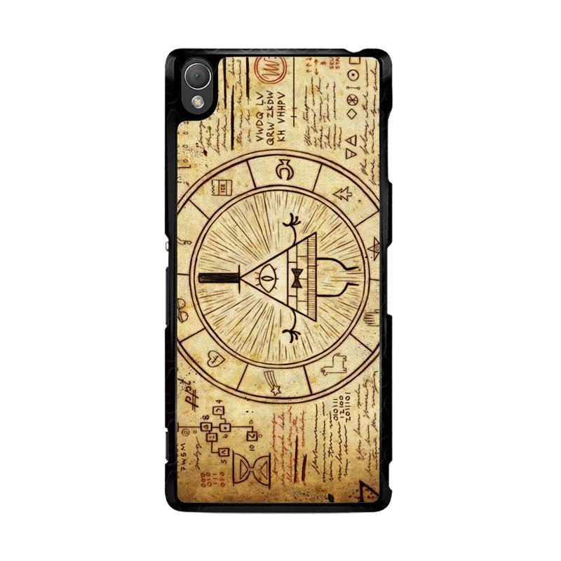 Flazzstore Gravity Falls Bill Z0187 Custom Casing for Sony Xperia Z3