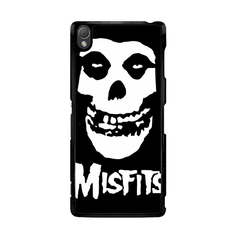 Flazzstore Horror Punk Rock Band Misfits Skull Z0506 Custom Casing for Sony Xperia Z3