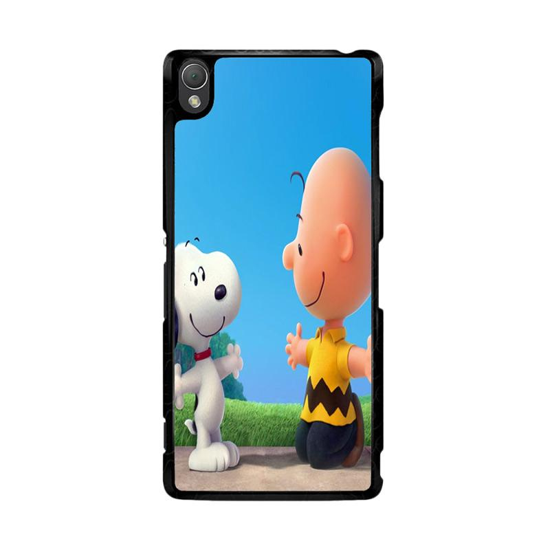 Flazzstore Peanuts Movie Z0850 Custom Casing for Sony Xperia Z3