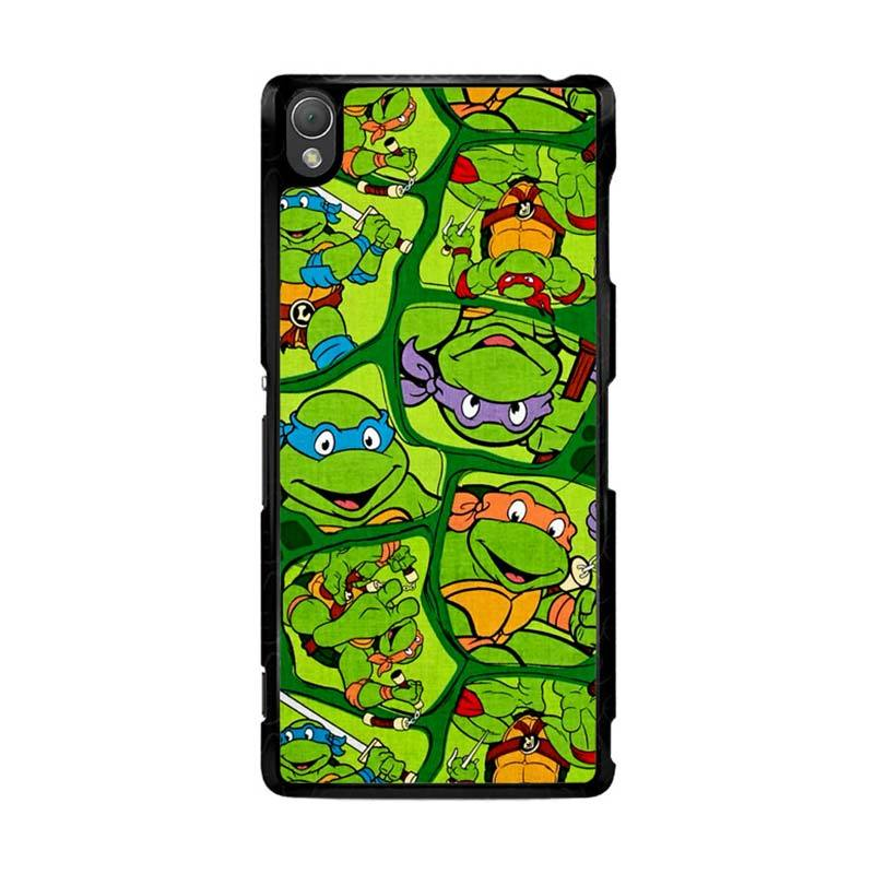 Flazzstore Teenage Mutant Ninja Turtles Collage Z1415 Casing for Sony Xperia Z3