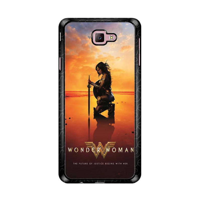 Flazzstore Wonder Woman Movie Z4975 Custom Casing for Samsung Galaxy J7 Prime