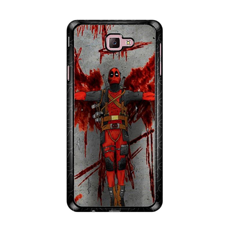 Flazzstore Deadpool Movie Cartoon Z5130 Custom Casing for Samsung Galaxy J7 Prime