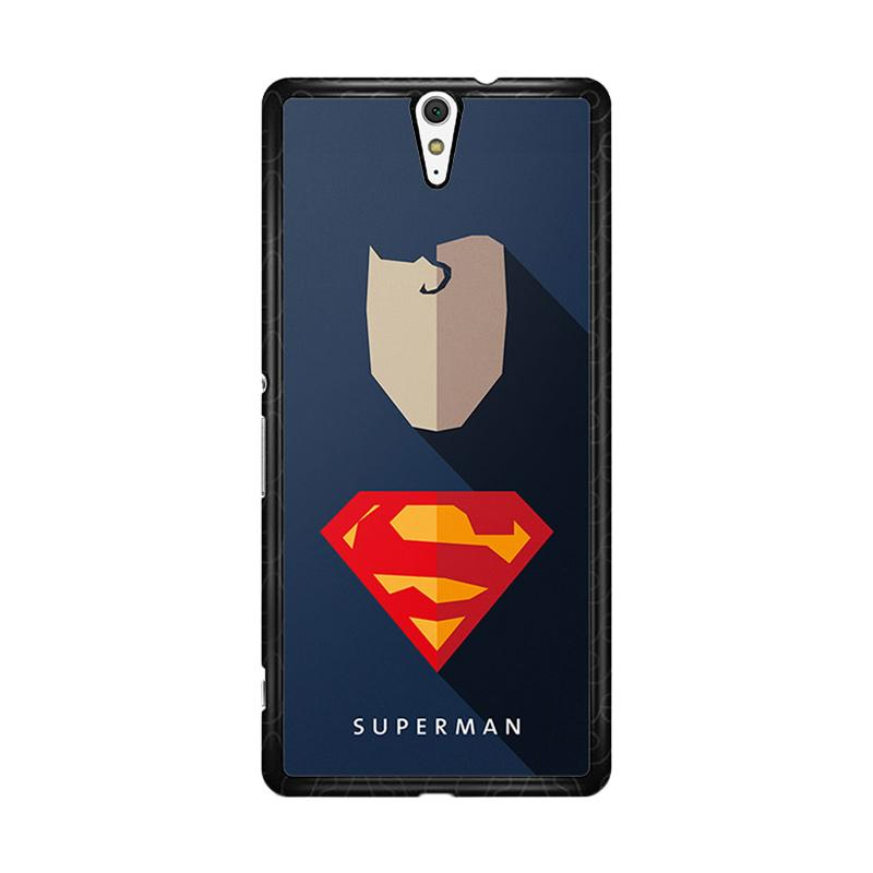 Flazzstore Superhero Superman O0247 Custom Casing for Sony Xperia C5 Ultra