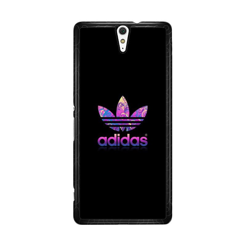 Flazzstore Adidas Purple O0459 Custom Casing for Sony Xperia C5 Ultra