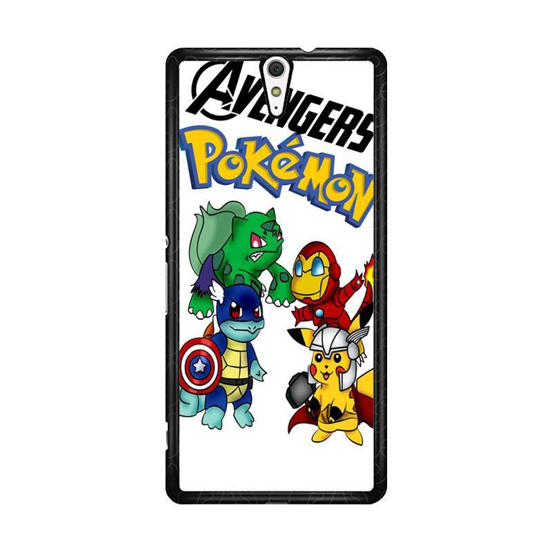 Flazzstore Pokemon Avengers Z0036 Custom Casing for Sony Xperia C5 Ultra