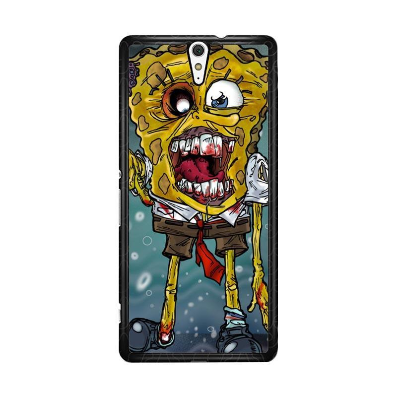 Flazzstore Zombie Sponge Bob Z0217 for Sony Xperia C5 Ultra